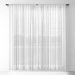 Grey Harbour Mist Mattress Ticking 2018 London Fashion Color Sheer Curtain