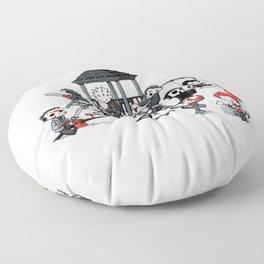 Horror Park Floor Pillow