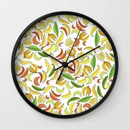 Bananas! Wall Clock