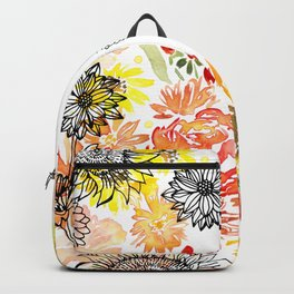 Autumn Florals Backpack
