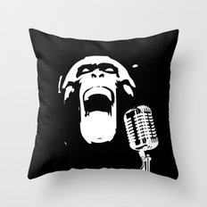 Wild Song Throw Pillow