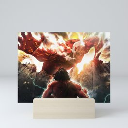 Attack On Titan Mini Art Print