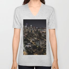 Seattle from the Space Needle Unisex V-Neck