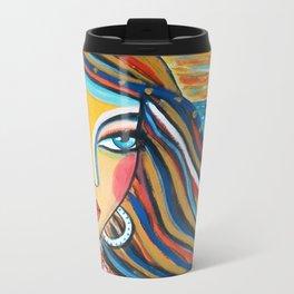 La fille aux cheveux d'horison Travel Mug