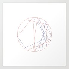 #145 Astrology – Geometry Daily Art Print