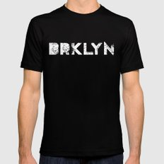 Brooklyn Mens Fitted Tee LARGE Black