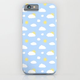 Clear Sunny Skies iPhone Case