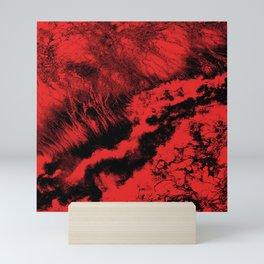 Black Red Mini Art Print