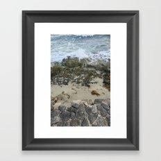 OCEAN MIST Framed Art Print