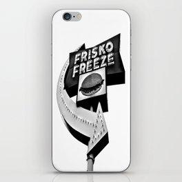 Frisko Freeze iPhone Skin