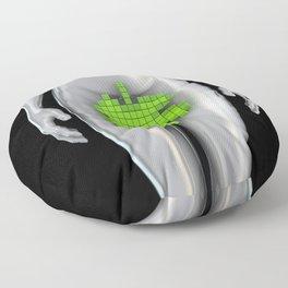 Digital Eve Floor Pillow