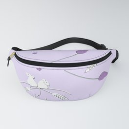 Love in Lavender in the Breeze Fanny Pack