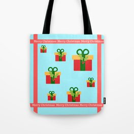 Merry Christmas and christmas gifts Tote Bag