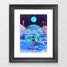 Give Peace A Chance Framed Art Print
