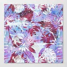 Motuu Tropical pink & white Canvas Print