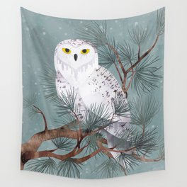 Snowy Wall Tapestry