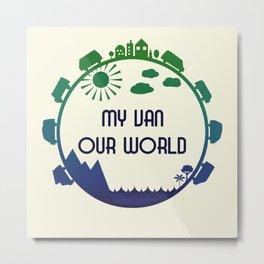 My Van Our World -  Ocean Metal Print