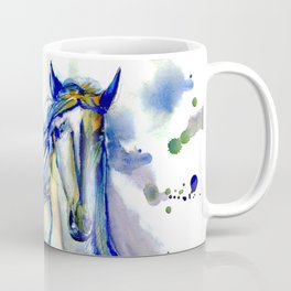 Watercolor Mustang Coffee Mug