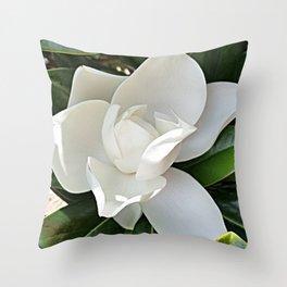 Magnolia 3 Throw Pillow