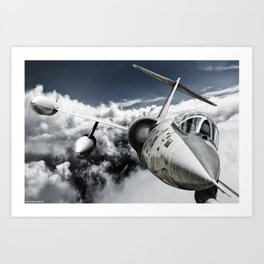 F-104 Starfighter Art Print