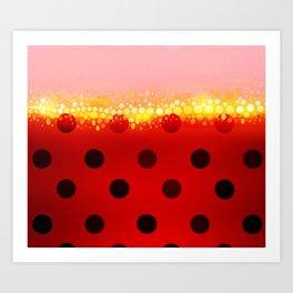 miraculous ladybug designs 1/2 Kunstdrucke