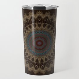 Sequential Baseline Mandala 26 Travel Mug