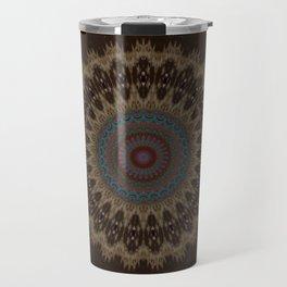 Sequential Baseline Mandala 26 Travel Mug