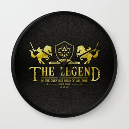 The Legend of the greastest Hero of all time Wall Clock