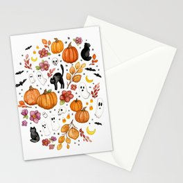 Spooky Season Stationery Cards