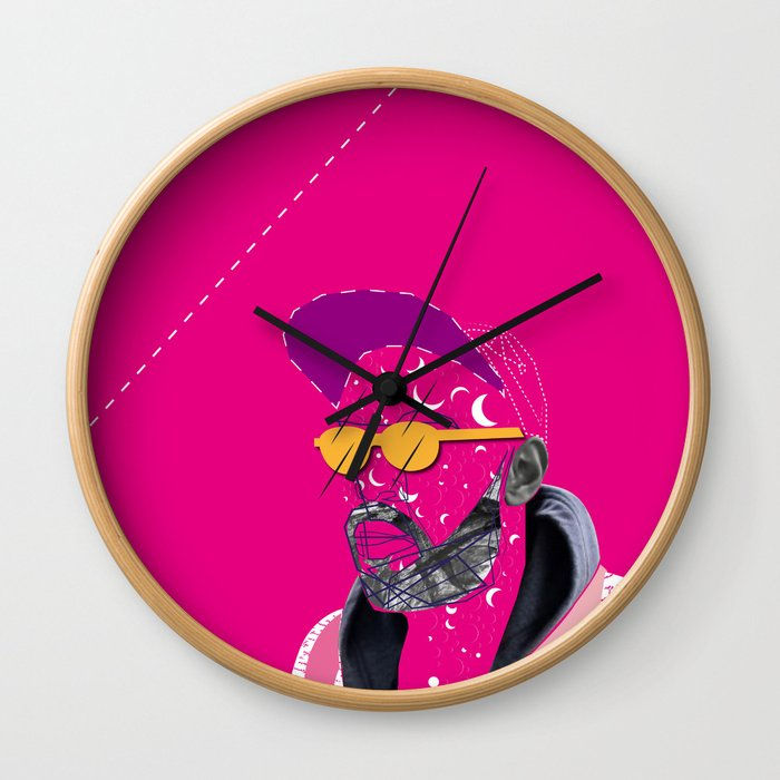 Shad K Wall Clock