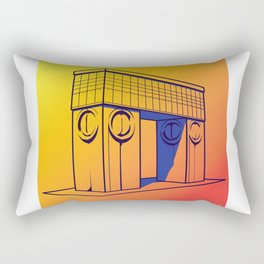 The gate of kiss Rectangular Pillow