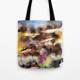 Abstract Tuscan Landscape Tote Bag