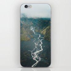 Braided Rivers in Þórsmörk, Iceland iPhone Skin