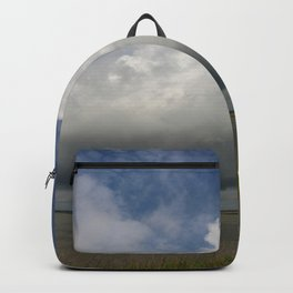 Clouds Over The Marsh Backpack