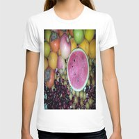 fruits T-shirts featuring SIMPLY FRUITS by Annie Koh