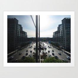 Viewpoints Art Print
