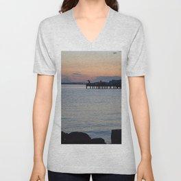 Seaside Fisherman Unisex V-Neck