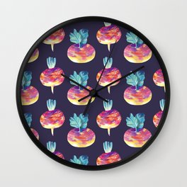 turnip Wall Clock