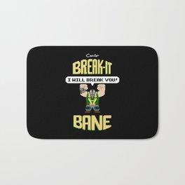Break-It Bane Bath Mat