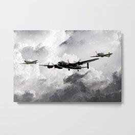 The Battle of Britain Memorial Flight Metal Print