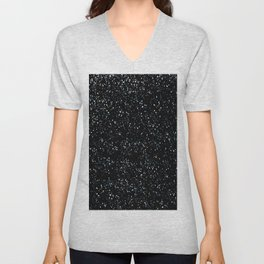 Abstract background Snow Unisex V-Neck