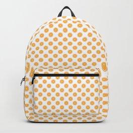 Orange Slices Fruit Pattern Backpack