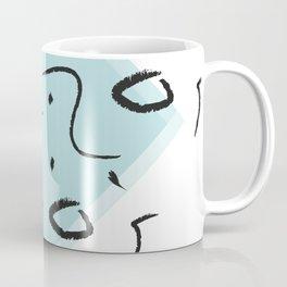 Between traditions and minimal design Coffee Mug