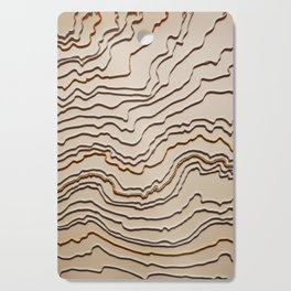 Underlying forces of all existence Cutting Board