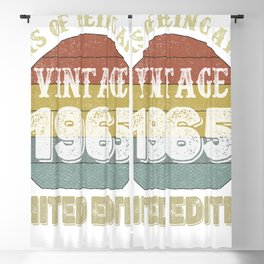 56 Year Old Gifts Vintage 1965 Limited Edition 56th Birthday Blackout Curtain
