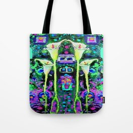 ARTY ART NOUVEAU CALLA LILIES DESIGN Tote Bag