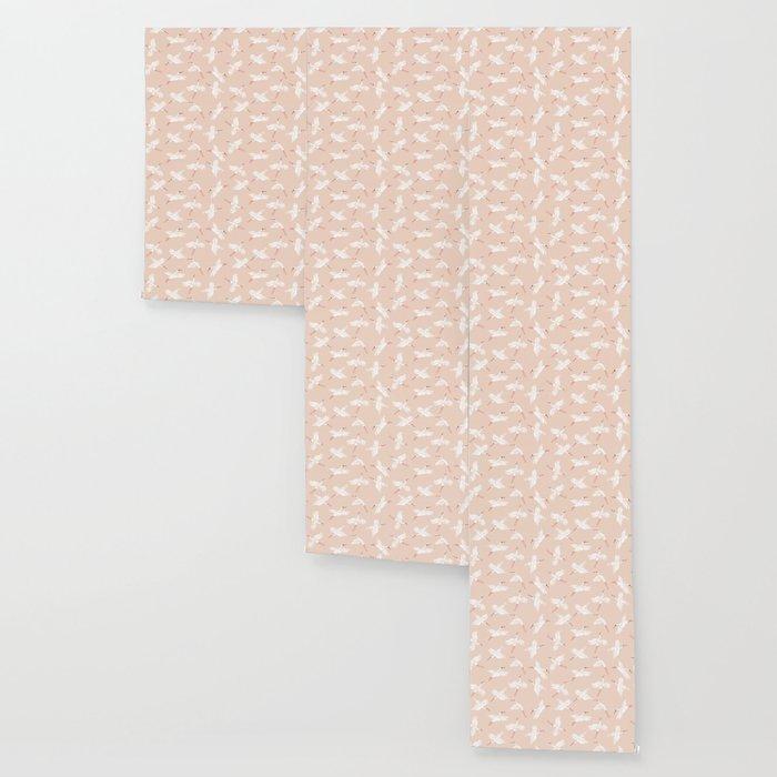 Crane Dance Wallpaper