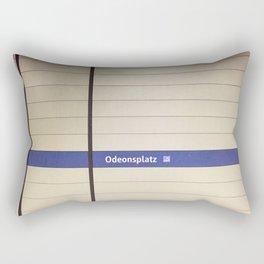 Munich U-Bahn Memories - Odeonsplatz Rectangular Pillow
