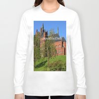 downton abbey Long Sleeve T-shirts featuring Downton Desire by Nonna Originals