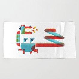 dragon Beach Towel